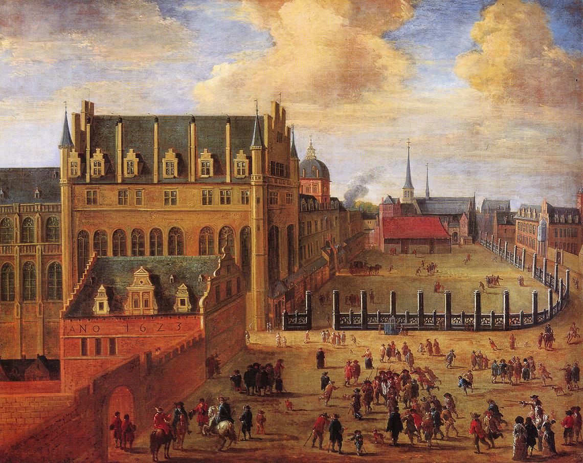 Картинки по запросу Le Château, puis Palais du Coudenberg,